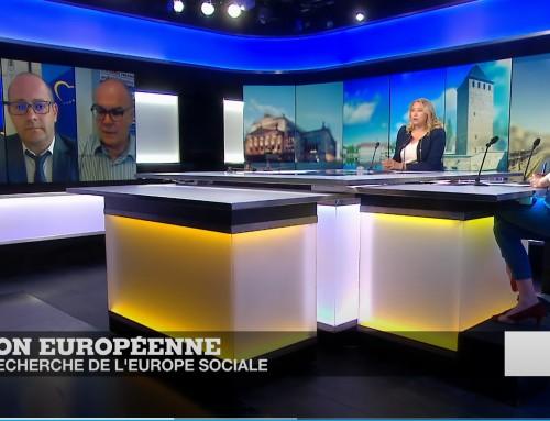 Бъдещето на трудовата политика и социалната защита в ЕС (TV France24)