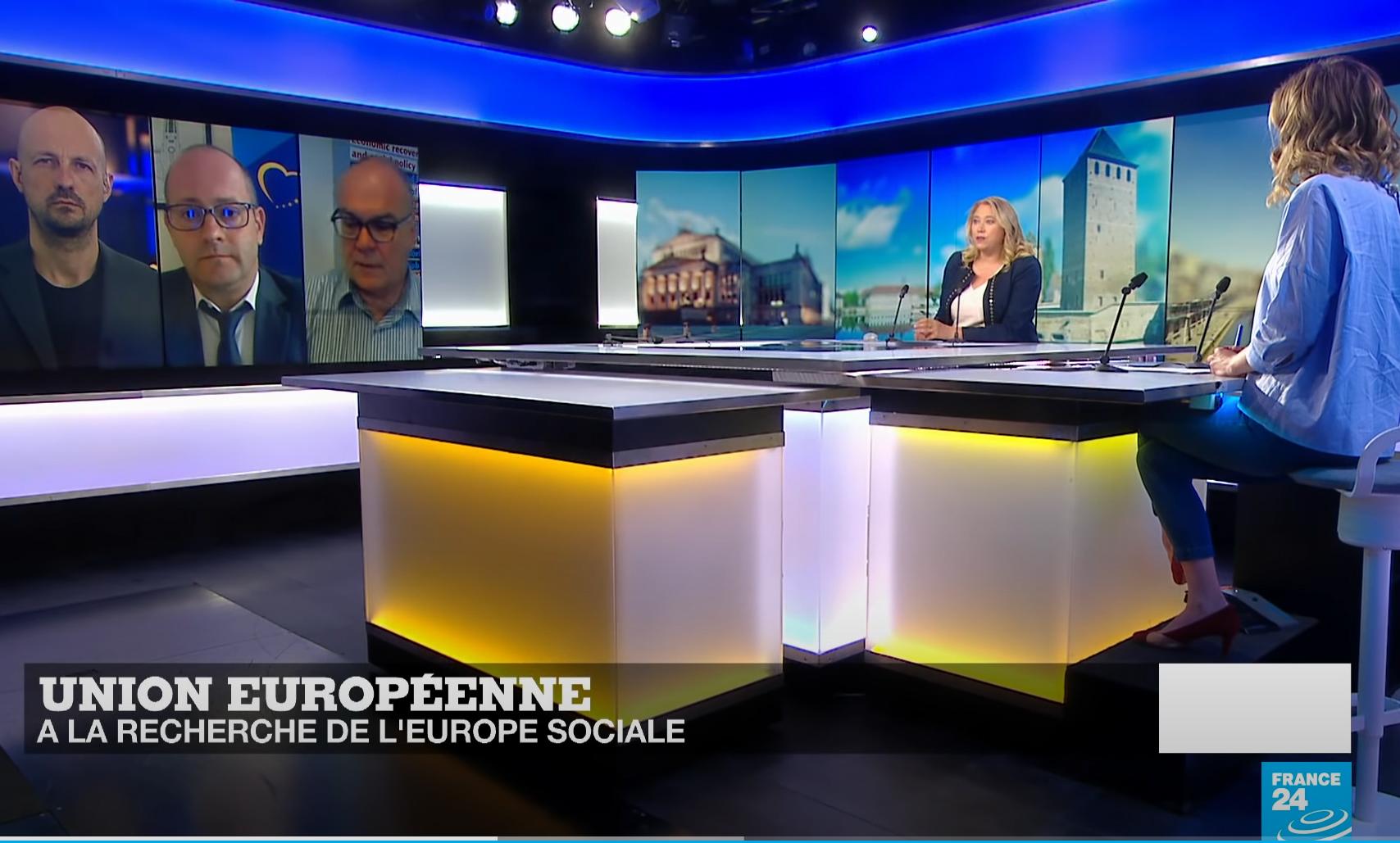 Радан Кънев Трудова Политика ЕС France24